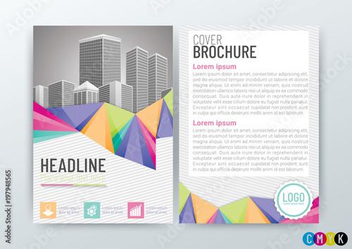 Abstract background design, poster flyer pamphlet brochure