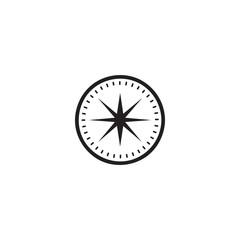 compass icon. sign design