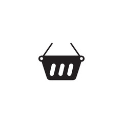 basket icon. sign design