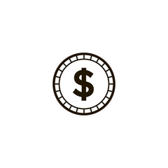 money icon. sign design