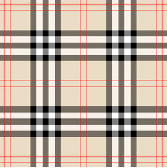 Background in Scottish cage. Burberry