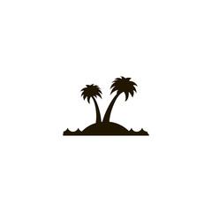paradise icon. sign design