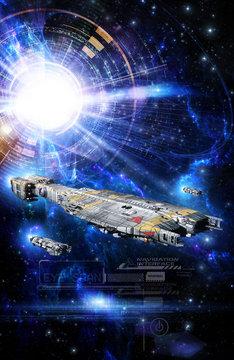 spaceship and inderfarce