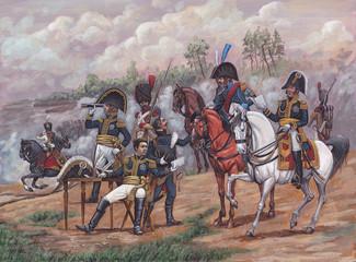 Staff of General Berthier, Napoleonic wars.