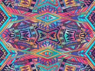 Background abstract triangle ornament ethnic summer bright