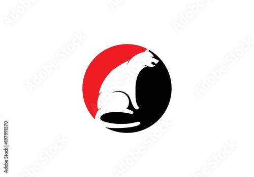 Cheetah logo template\