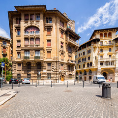 Fototapete - Coppede Quarter, Rome, Italy