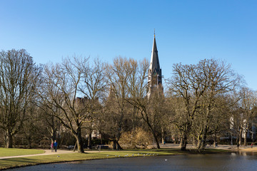 The Vondelchurch at the Amsterdam Vondelpark