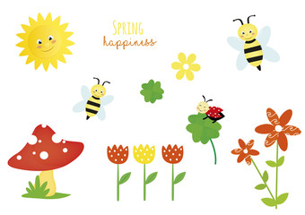 spring happiness