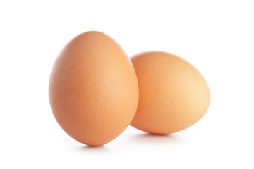 egg on white background