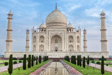 Famous Taj Mahal, India Wall mural