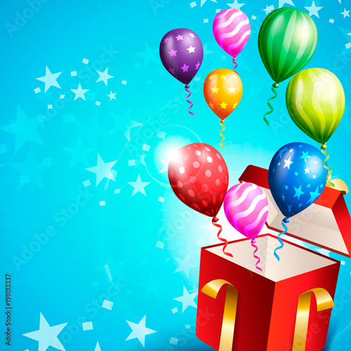 birthday invitation card birthday background stock image and