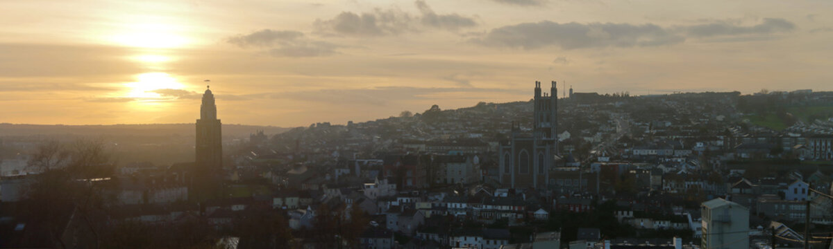 Panorama of Cork City, Ireland