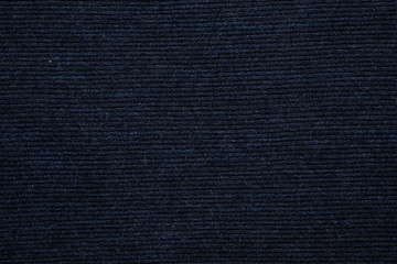 texture of blue knitted fabric, close-up, top view