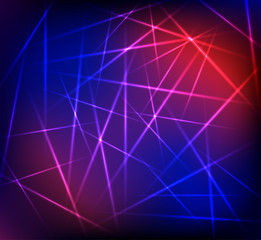 Vector abstract neon background