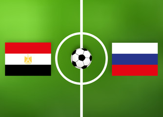 Fußball - Ägypten gegen Russland