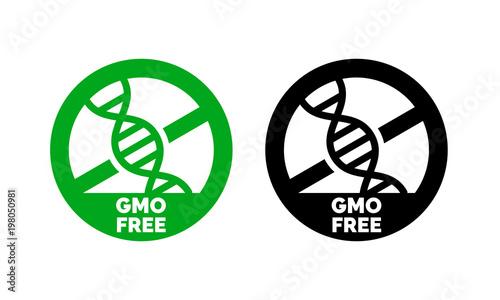 Gluten free label vector icons set  No wheat symbols templates