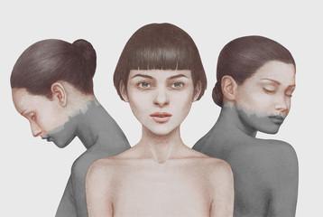 Women's Perspective, hand-drawn illustration