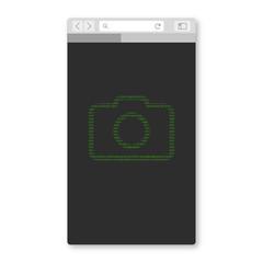 Mobil Browser - Kamera