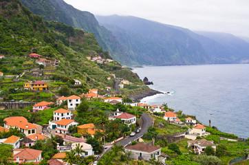 Coast near Ponta Delgada, Madeira island, Portugal