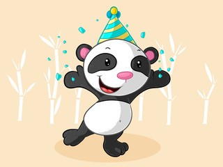 Party Comic Panda