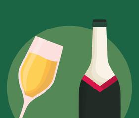 Champagne drink design