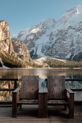 Rest in Italy at Lake Braies