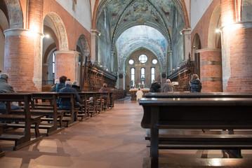 complesso monastico (Abbazzia) di Chiaravalle, Milano, interno