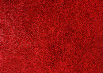 Red leather texture. May used as background.