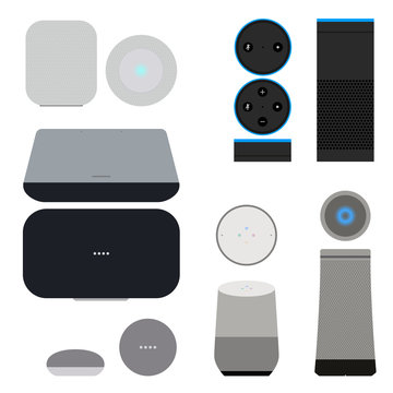 Set of smart speakers