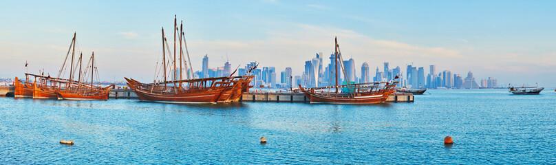 The beauty of Doha, Qatar