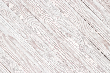 White wood texture, background wooden table top view