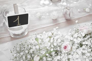 Décoration de table mariage