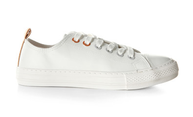 Casual shoe on white background