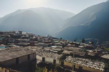 Landscape of Canta - Lima - Peru