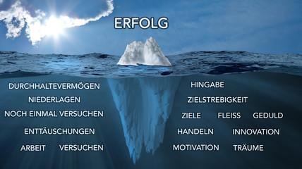 Rezept zum Erfolg, Eisberg