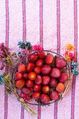 fruit, food, red, strawberry, fresh, ripe, berry, c