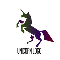 unicorn logo icon