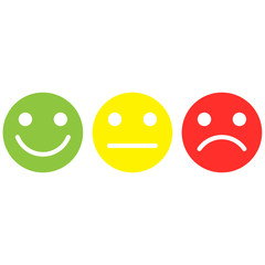 smile,smiley, happy,sad,straight face,emoticon isolated vector