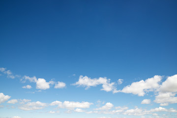 Sky background view