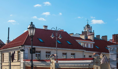 A fragment of Vilnius Old Town