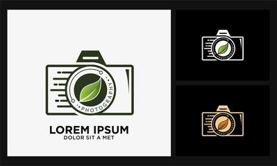 camera eco photography logo