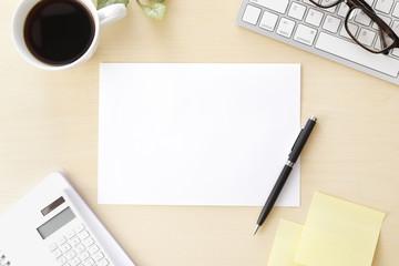 ビジネスイメージ Business desk scene