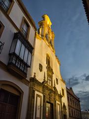 Iglesia de la Santa Cruz en Sevilla