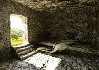 Túmulo Vazio - Ressurreição De Jesus Cristo