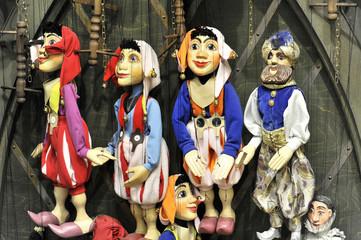 Prager Marionetten,  Prag, Tschechische Republik, Europa