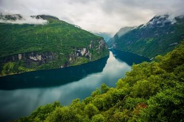 Wall Mural - Scenic Norwegian Fjords