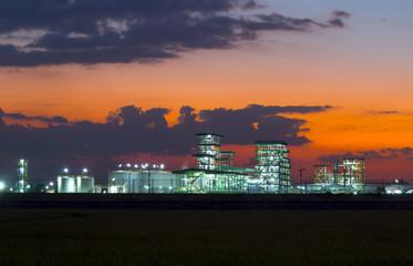 Biodiesel refinery in Thailand.