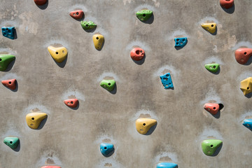 artificial climbing wall, climbing wall for practicing -