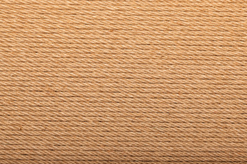 hemp rope in the form of a background